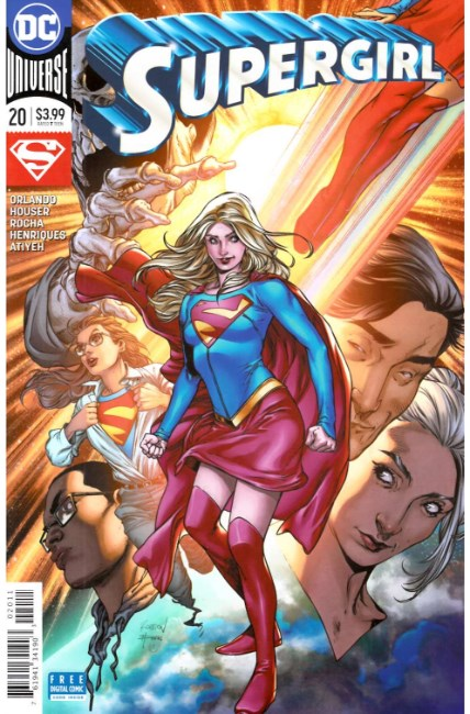 Supergirl #20 [DC Comic] LARGE