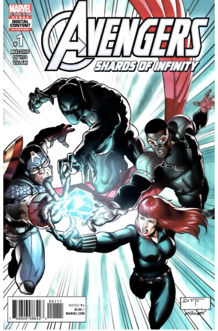 Avengers Shards of Infinity #1 [Marvel Comic] LARGE