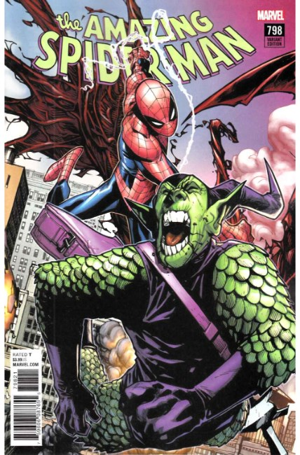 Amazing Spider-Man #798 Ramos Connecting Variant Cover Near Mint (9.4) [Marvel Comic] LARGE