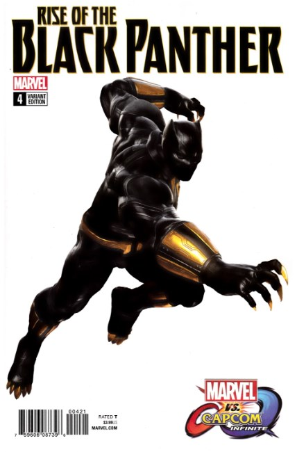 Rise of Black Panther #4 Game Image Variant Cover [Marvel Comic] THUMBNAIL