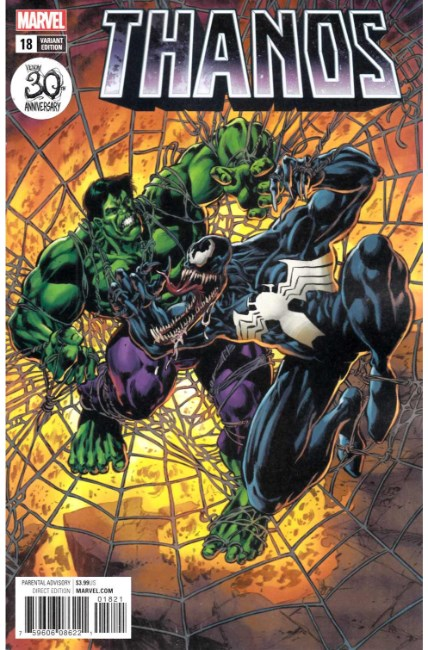 Thanos #18 Venom 30th Variant Cover [Marvel Comic] LARGE