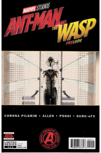 Marvels Ant-Man and Wasp Prelude #2 [Marvel Comic] LARGE