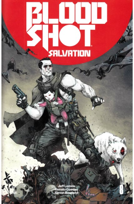 Bloodshot Salvation #8 Cover A [Valiant Comic] THUMBNAIL