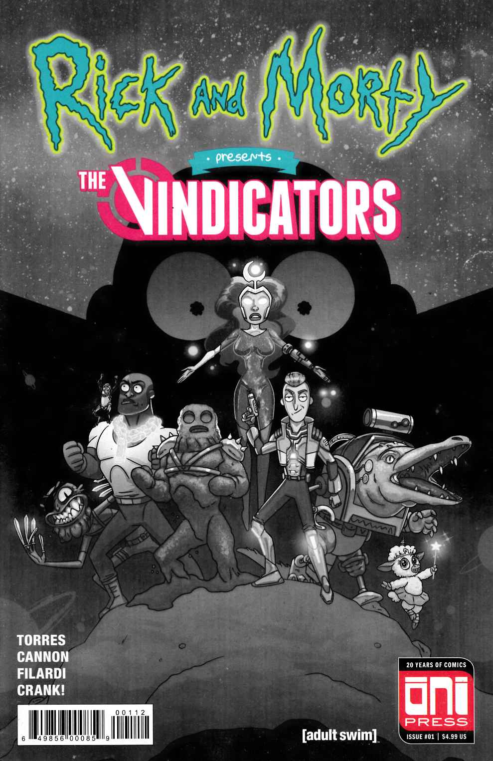 Rick & Morty Presents The Vindicators #1 Second Printing Very Good Plus (4.5) [Oni Press Comic] THUMBNAIL