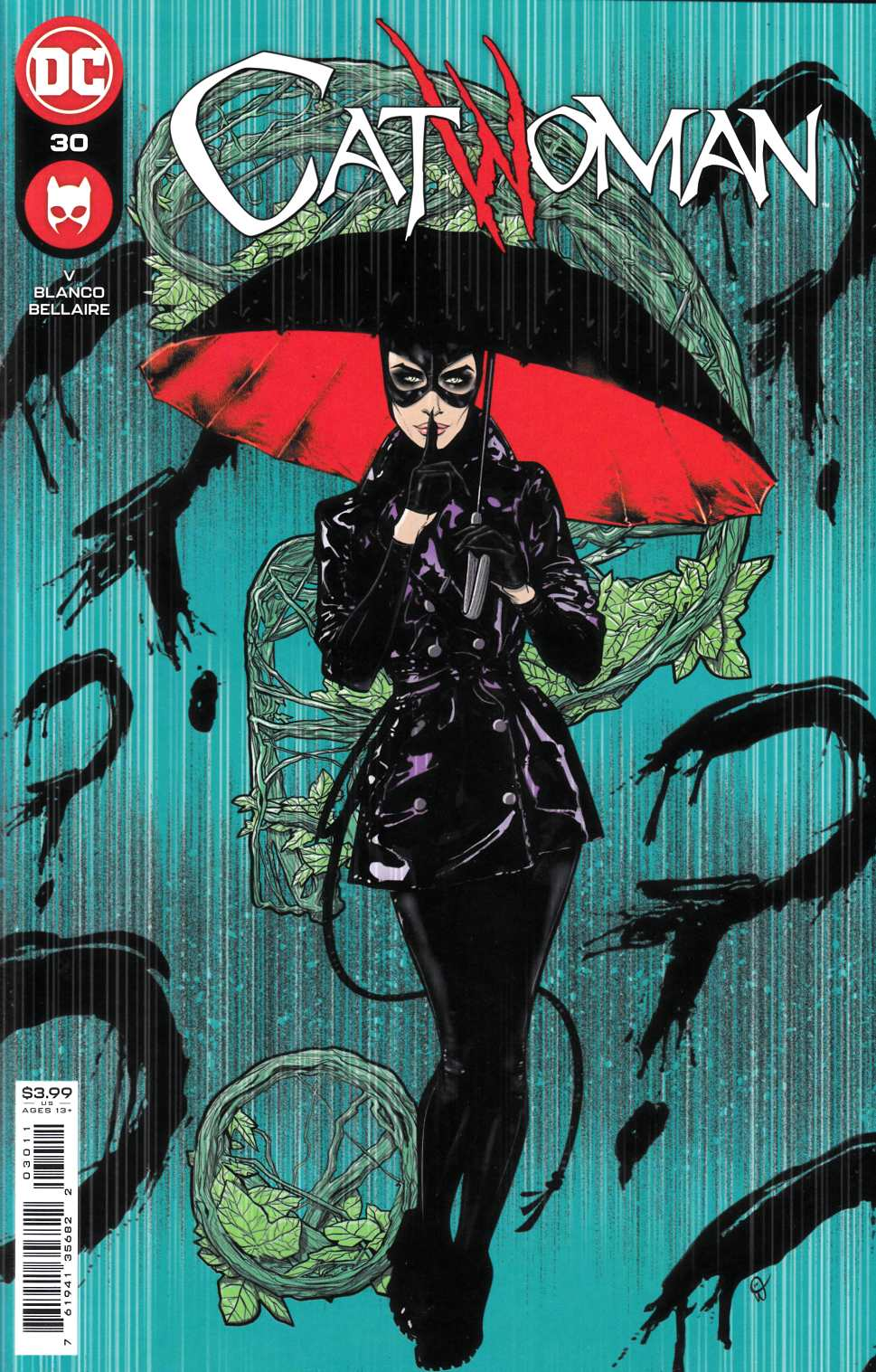 Catwoman #30 Cover A Near Mint (9.4) [DC Comic] LARGE
