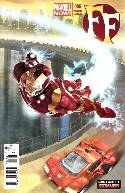 FF #6 Iron Man Many Armors Cover (Now) [Comic] THUMBNAIL