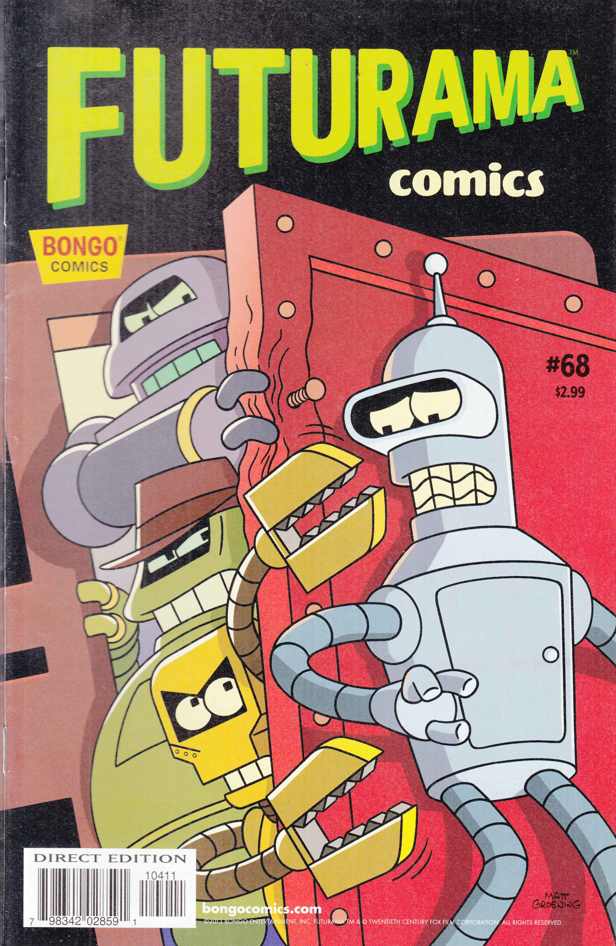 Futurama Comics #68 Fine (6.0) [Bongo Comic] LARGE
