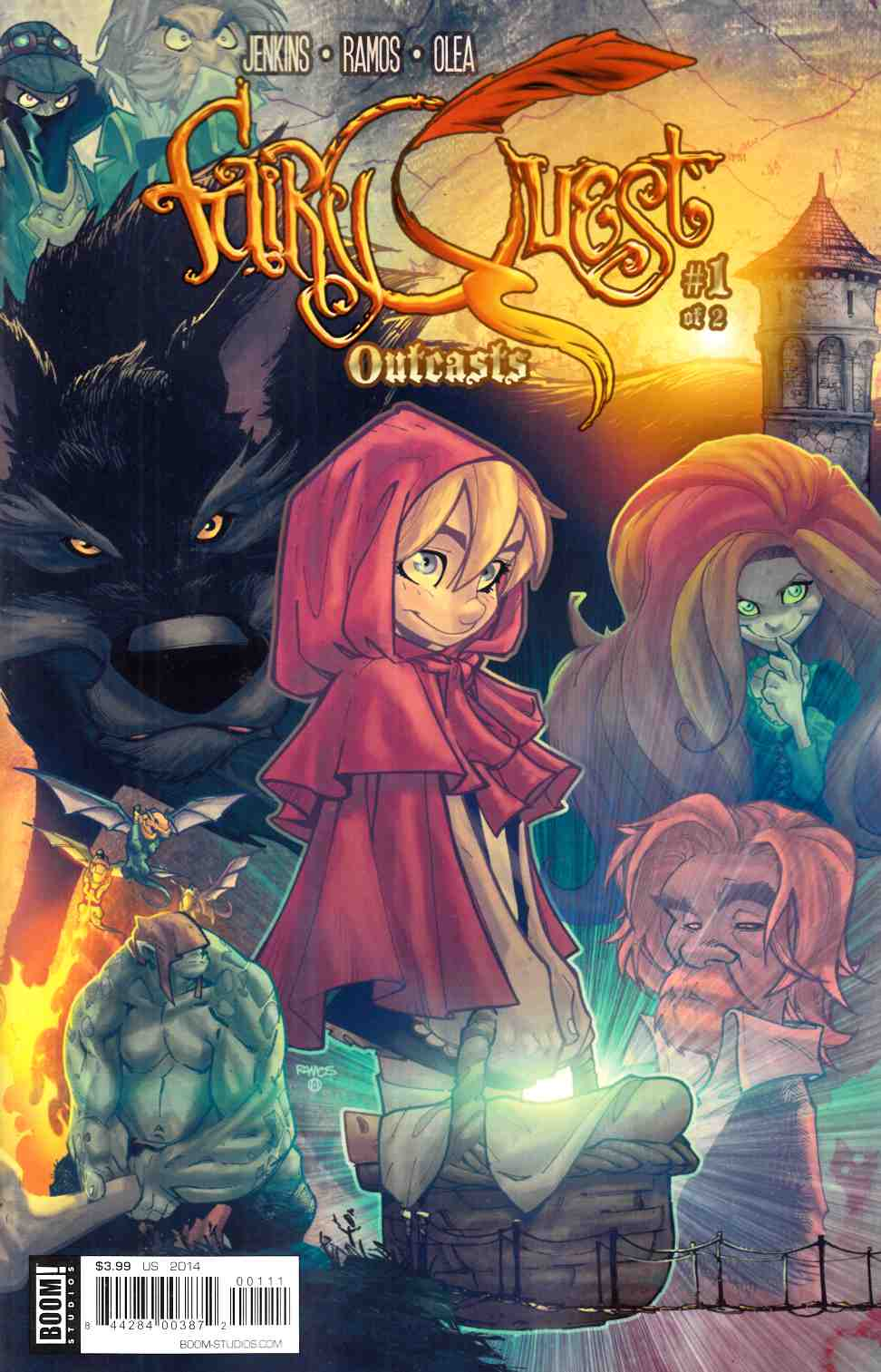 Fairy Quest Outcasts #1 [Boom Comic] THUMBNAIL