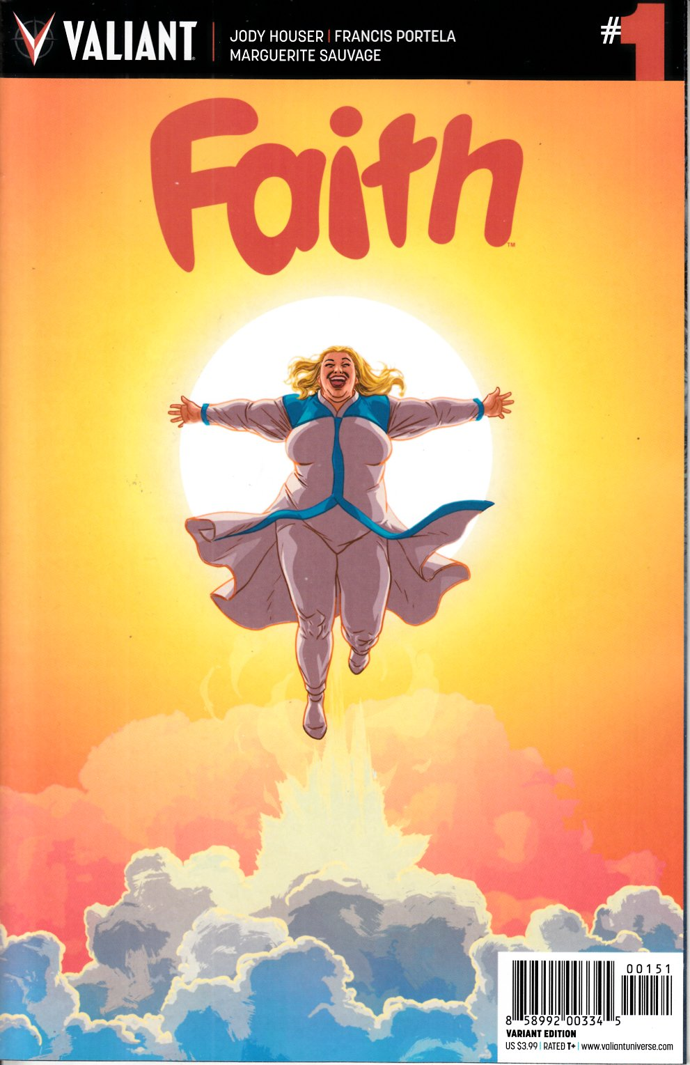Faith #1 Cover E- Kano [Valiant Comic] THUMBNAIL