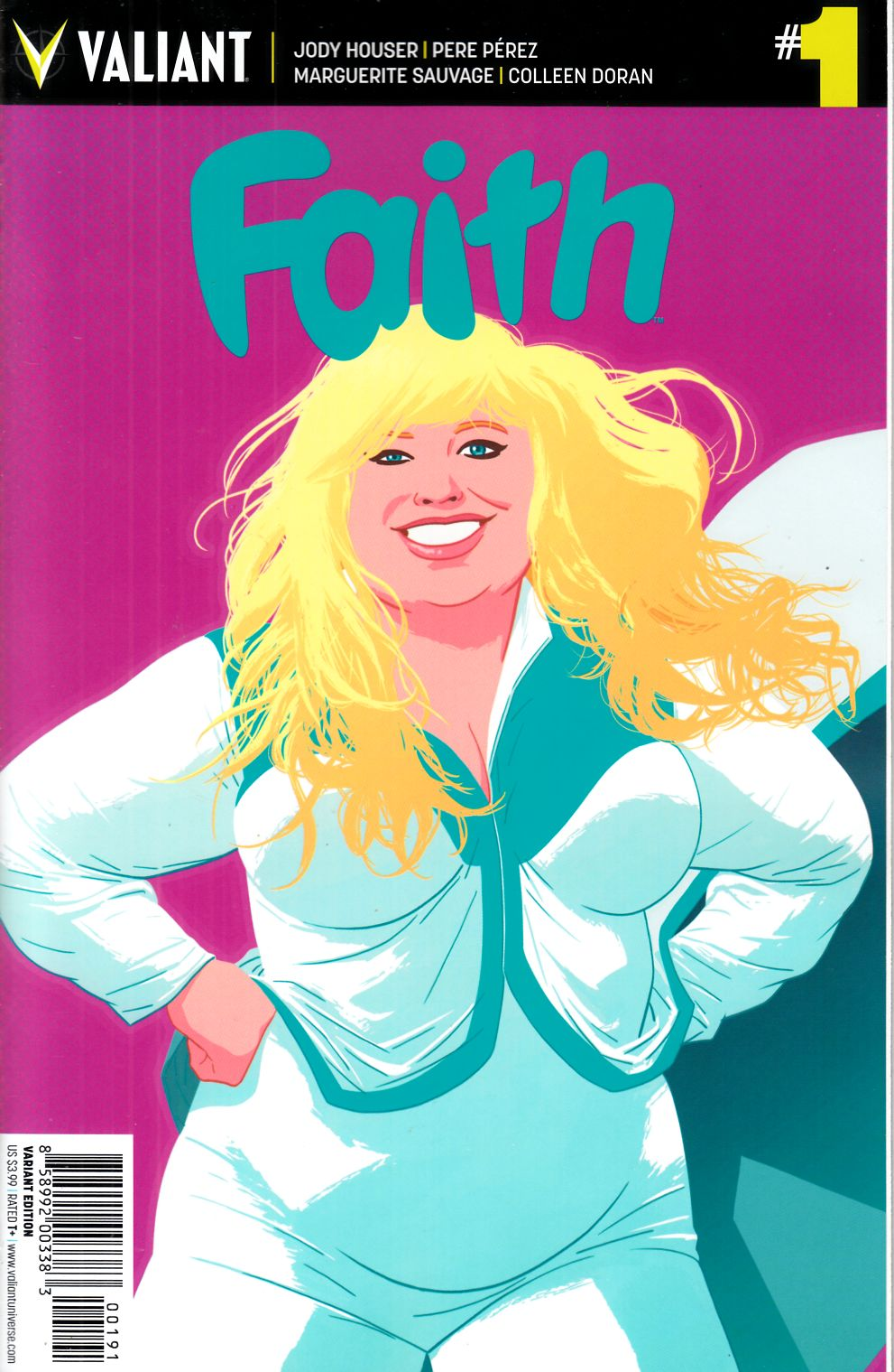 Faith (Ongoing) #1 Cover I- Kano Incentive [Valiant Comic] THUMBNAIL