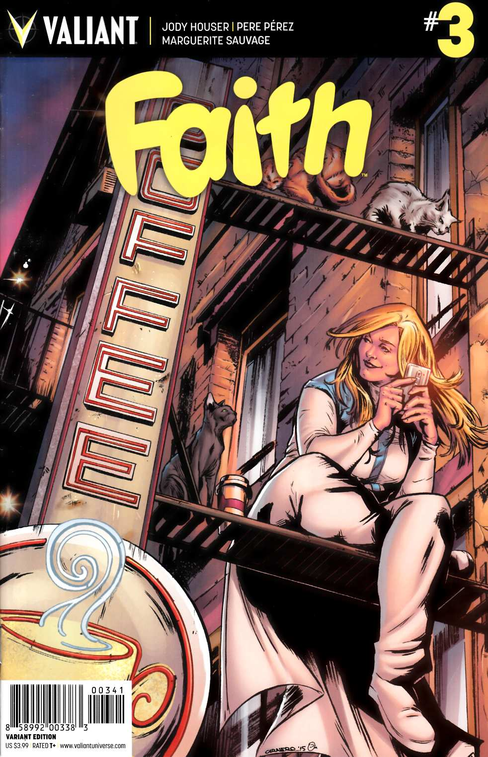 Faith (Ongoing) #3 Cover D- Carnero Variant [Valiant Comic] LARGE