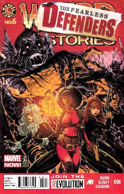 Fearless Defenders #6 (Now) [Comic] LARGE
