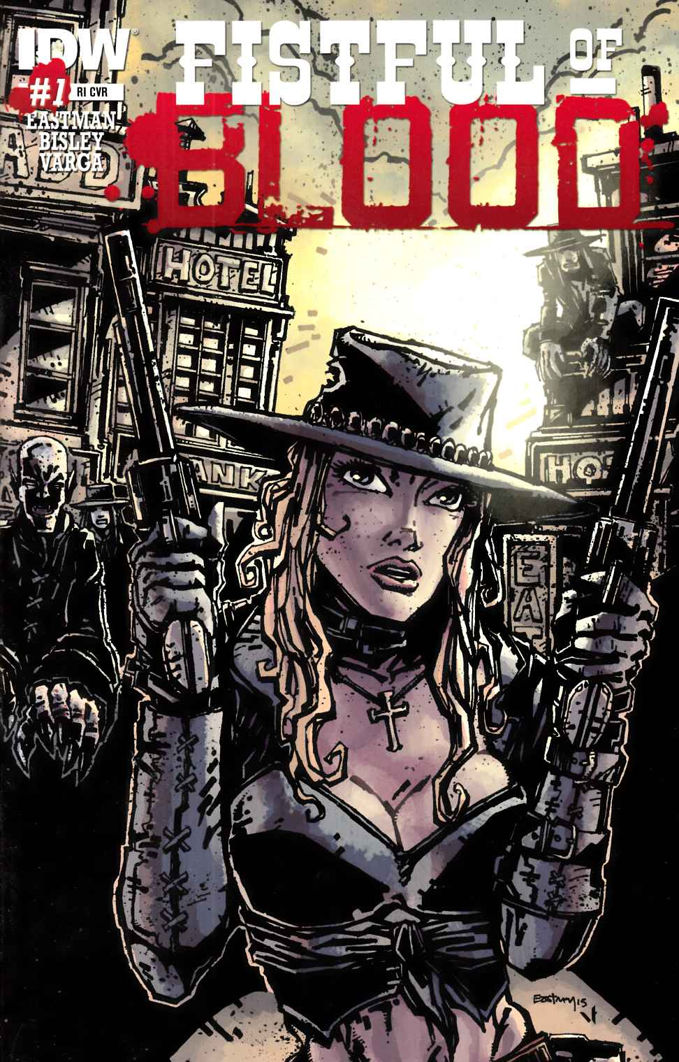 Fistful of Blood #1 Cover RI- Eastman [IDW Comic] THUMBNAIL