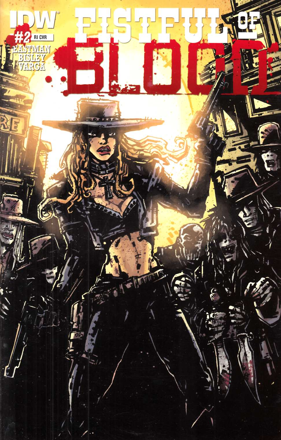 Fistful of Blood #2 Cover RI [IDW Comic] LARGE