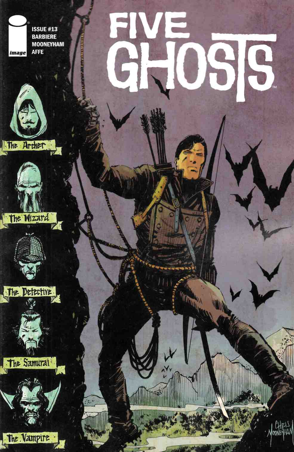 Five Ghosts #13 [Image Comic] THUMBNAIL