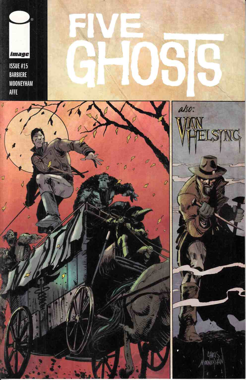 Five Ghosts #15 [Image Comic] THUMBNAIL