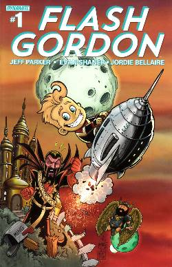 Flash Gordon #1 Haeser Exclusive Subscription Cover [Comic] LARGE