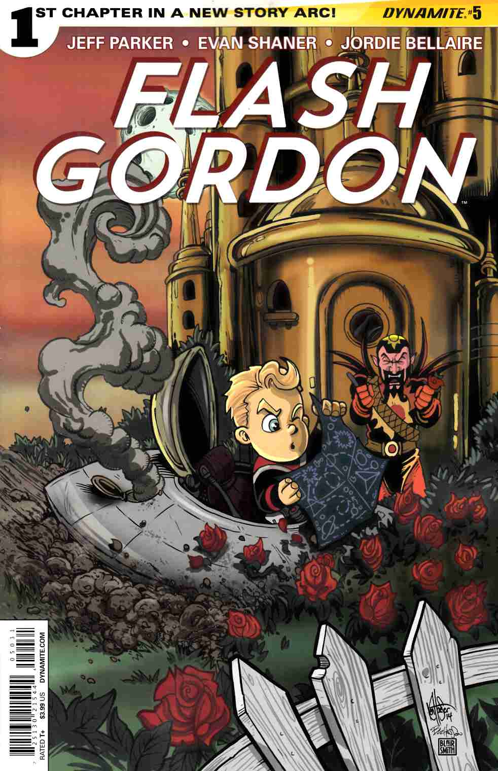 Flash Gordon #5 Haeser Subscription Cover [Comic] LARGE