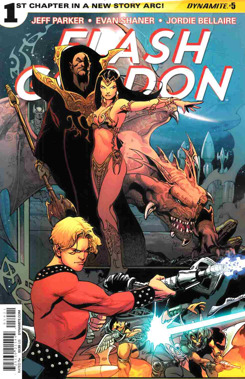 Flash Gordon #5 80th Anniversary Cover [Comic] LARGE