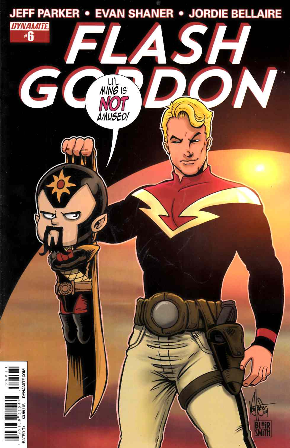 Flash Gordon #6 Haeser Subscription Cover [Dynamite Comic] LARGE