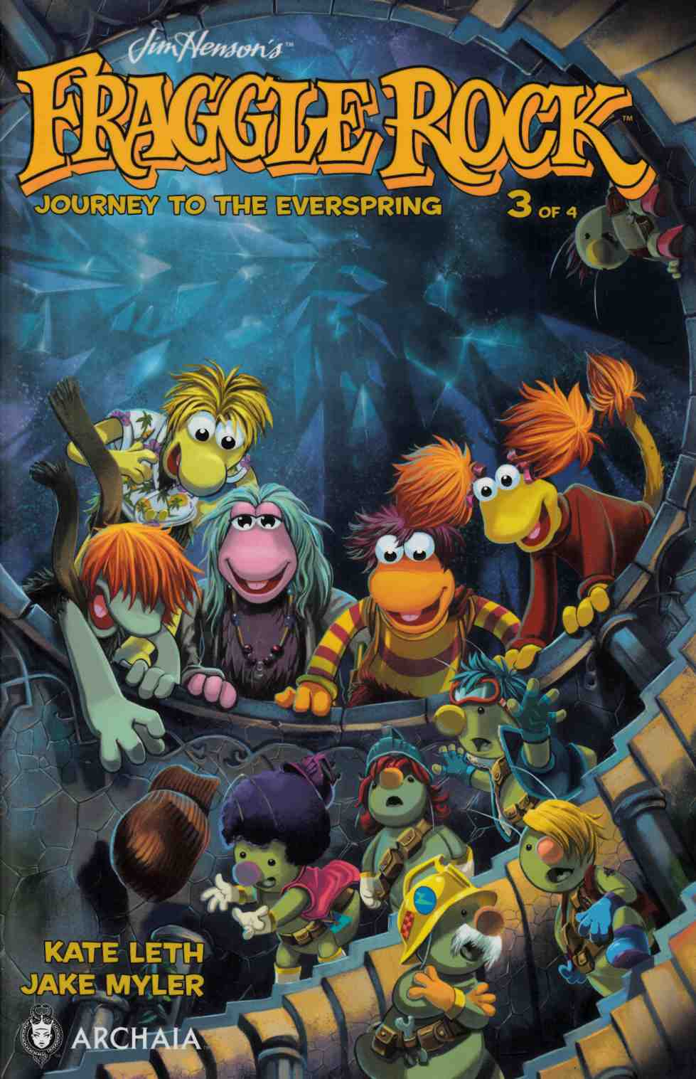 Fraggle Rock Journey Everspring #3 [Boom Comic] THUMBNAIL