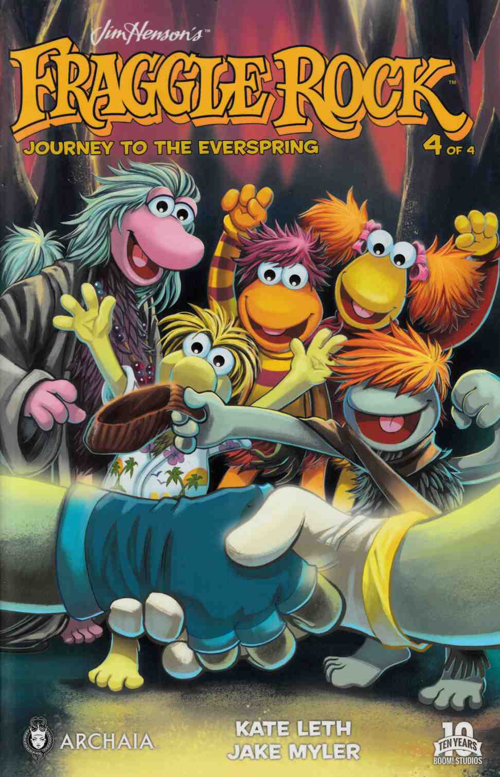 Fraggle Rock Journey Everspring #4 [Boom Comic] THUMBNAIL