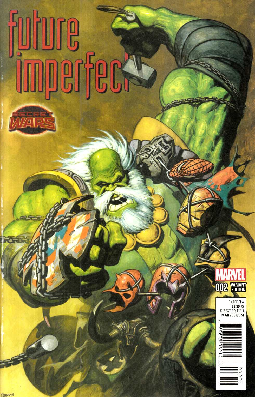 Future Imperfect #2 Garres Variant Cover [Marvel Comic]