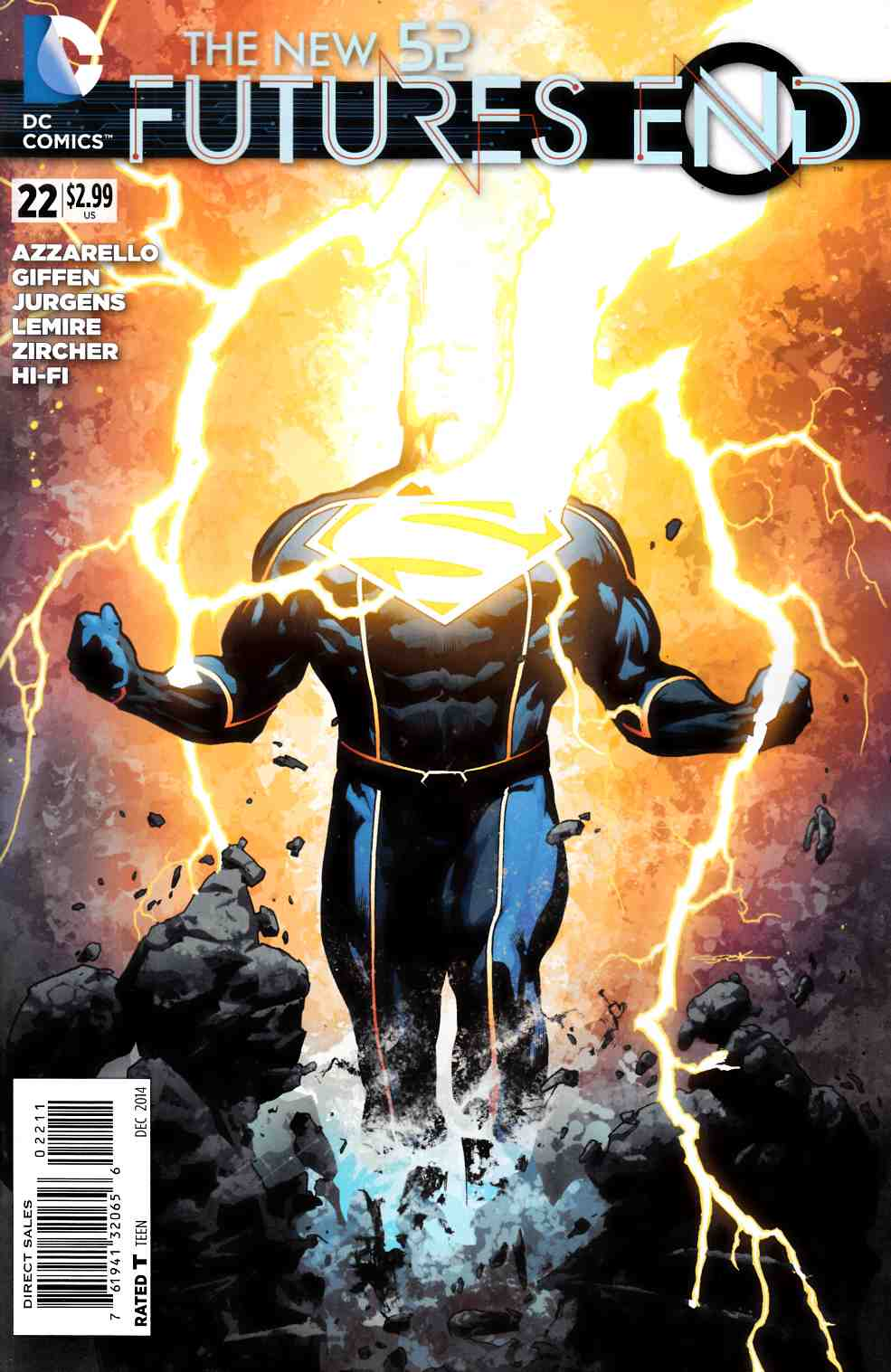 New 52 Futures End #22 (Weekly) [DC Comic] THUMBNAIL