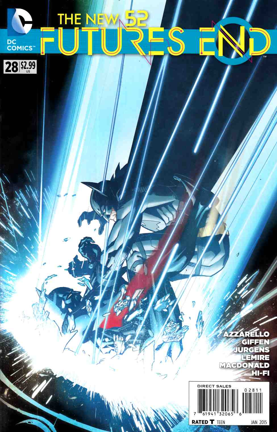 New 52 Futures End #28 (Weekly) [DC Comic] THUMBNAIL