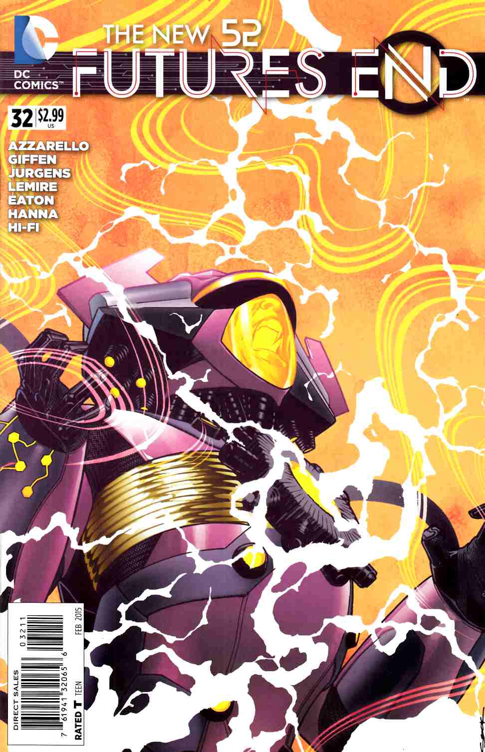 New 52 Futures End #32 (Weekly) [DC Comic] LARGE