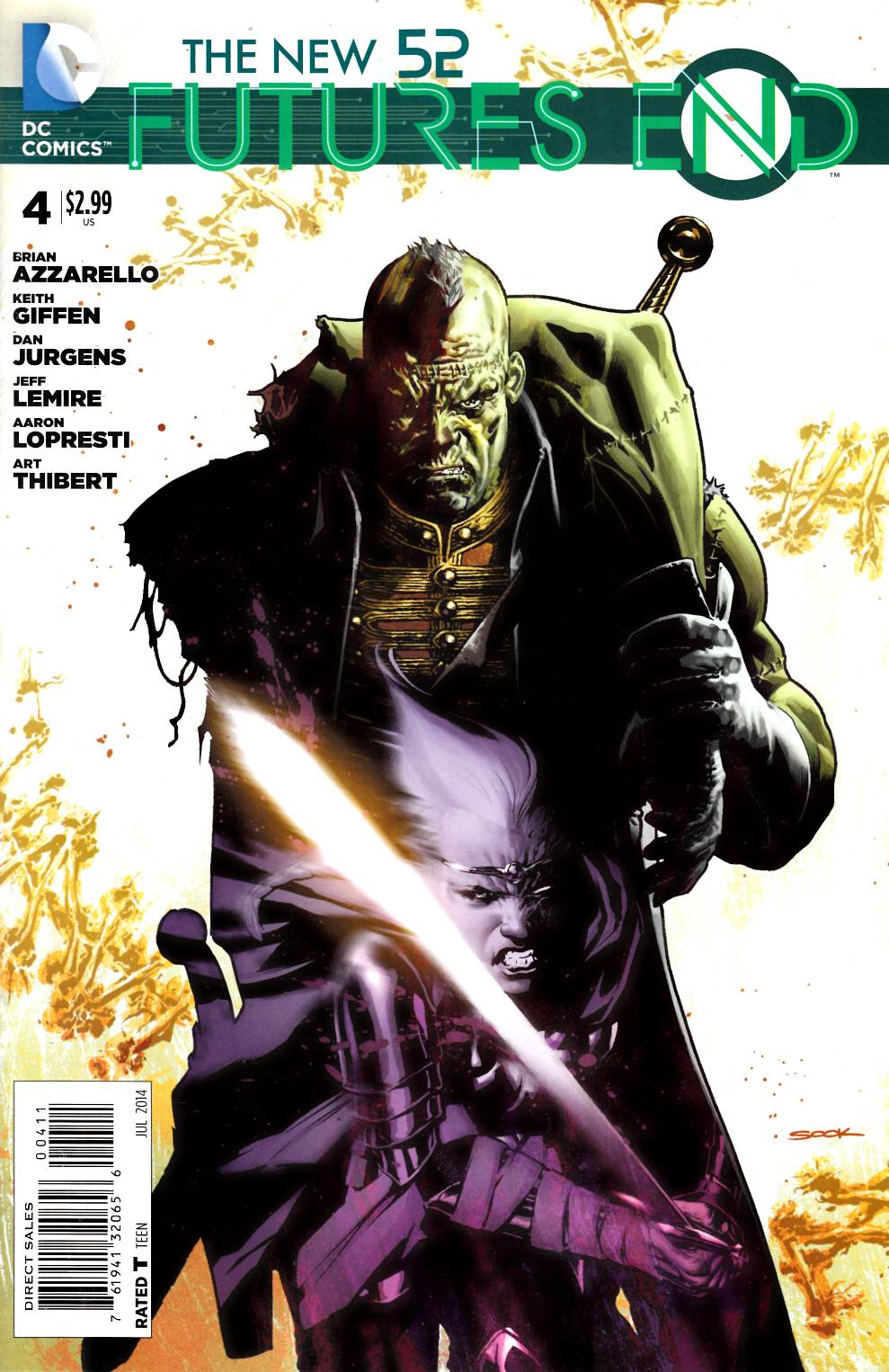 New 52 Futures End #4 [Comic] LARGE