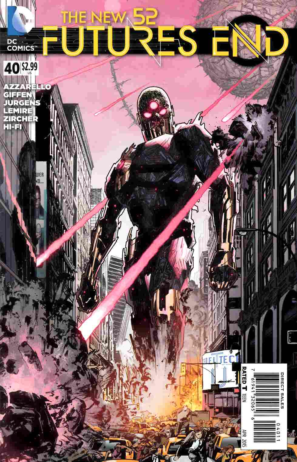 New 52 Futures End #40 [DC Comic] LARGE