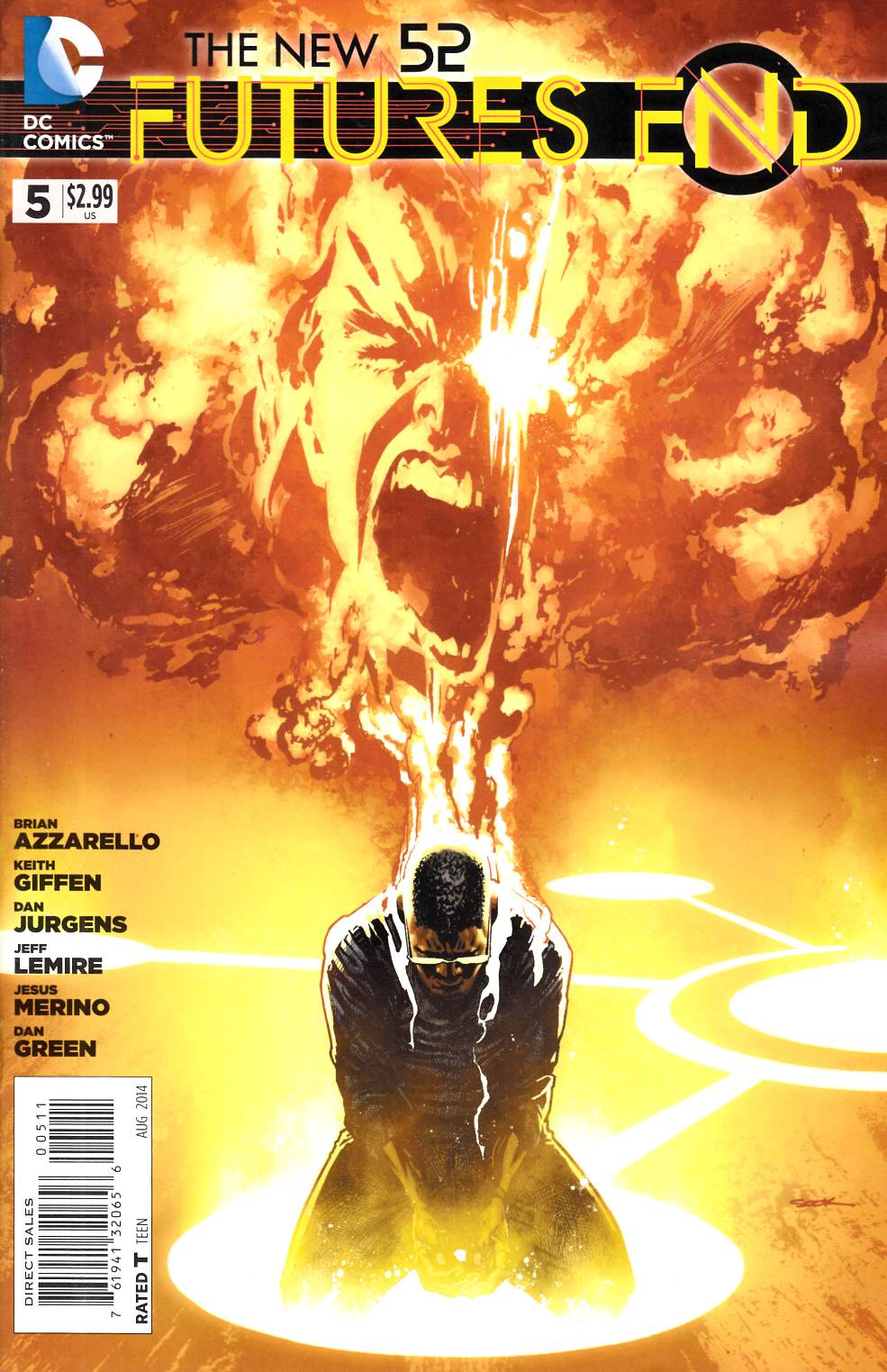 New 52 Futures End #5 [Comic] LARGE