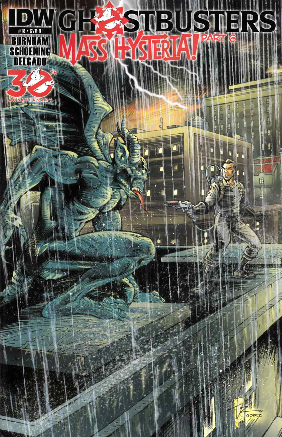 Ghostbusters #18 Cover RI [Comic] THUMBNAIL