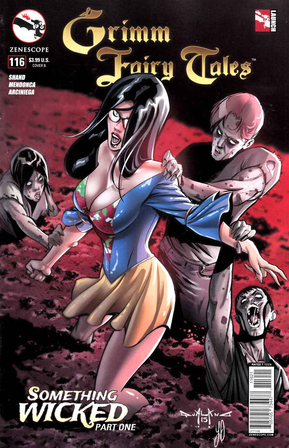 GFT Grimm Fairy Tales #116 Wicked Cover B- Qualano [Zenescope Comic] THUMBNAIL