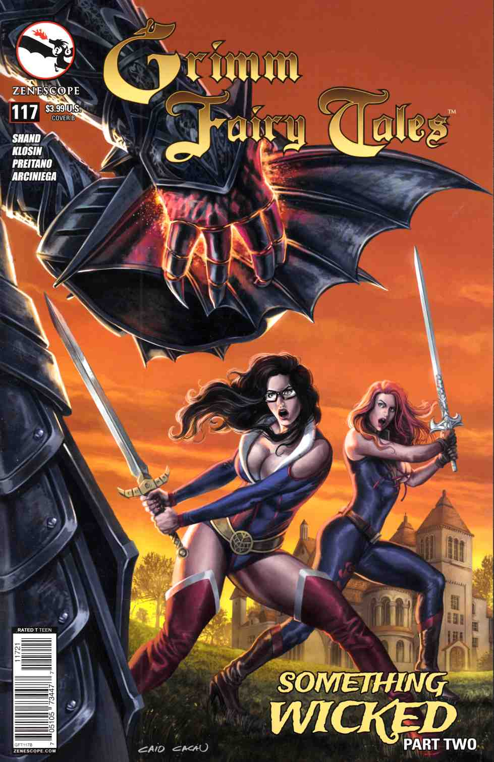 Grimm Fairy Tales #117 Wicked Cover B- Cacau [Zenescope Comic] THUMBNAIL