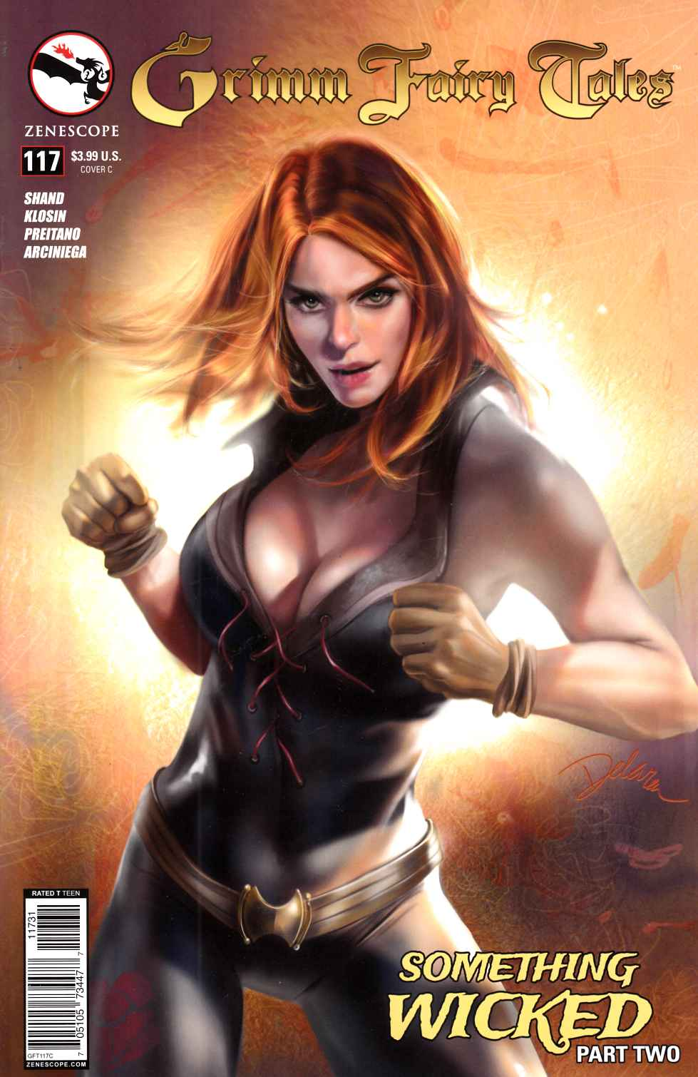 Grimm Fairy Tales #117 Wicked Cover C- Delara [Zenescope Comic] THUMBNAIL