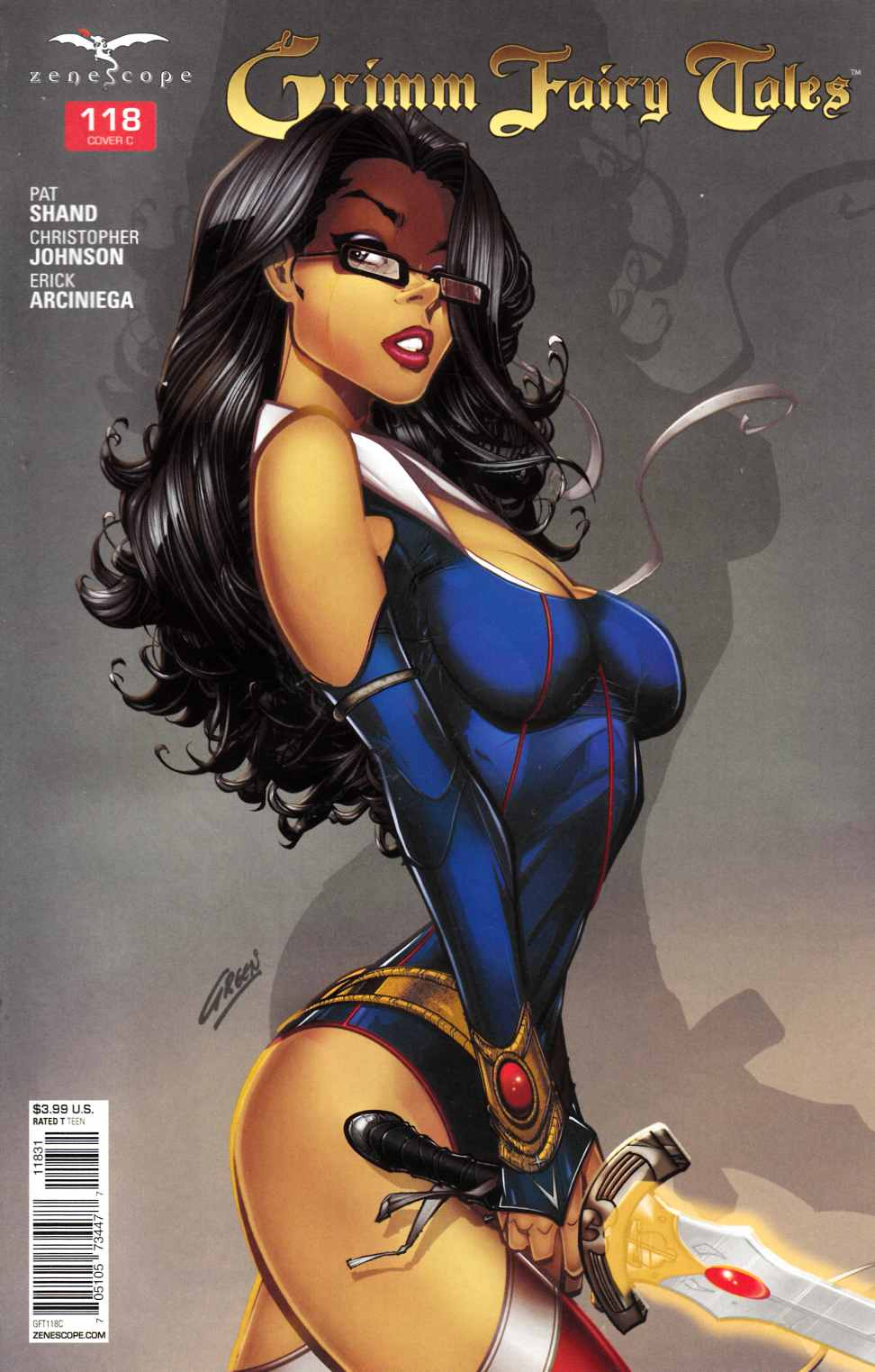 Grimm Fairy Tales #118 Cover C- Green [Zenescope Comic] THUMBNAIL