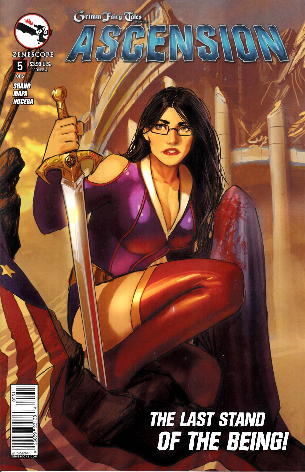 GFT Ascension #5 Cover A- Sejic [Zenescope Comic] THUMBNAIL