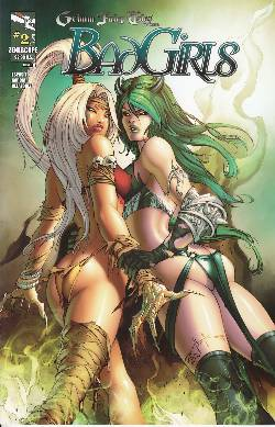GFT Bad Girls #2 Cover A- Qualano [Comic]