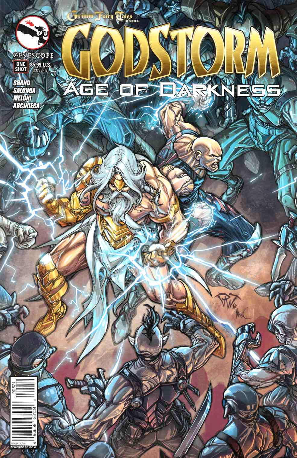 Godstorm Age of Darkness (One Shot) Cover A- Tyndall [Comic] LARGE