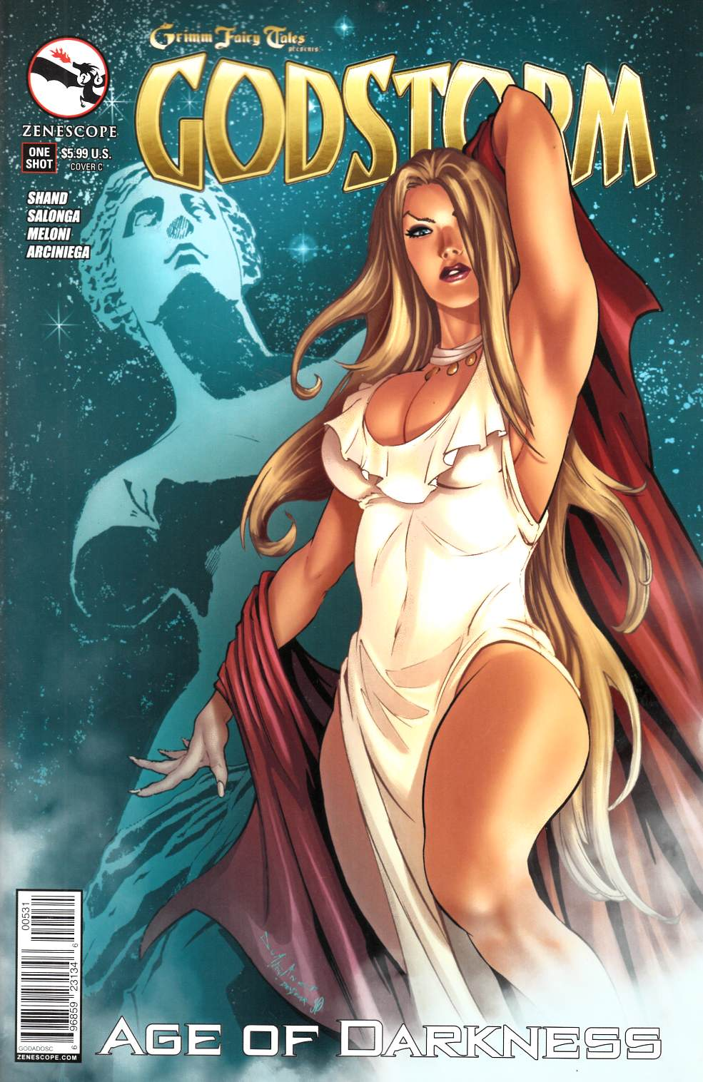 Godstorm Age of Darkness (One Shot) Cover C- Qualano [Comic] LARGE