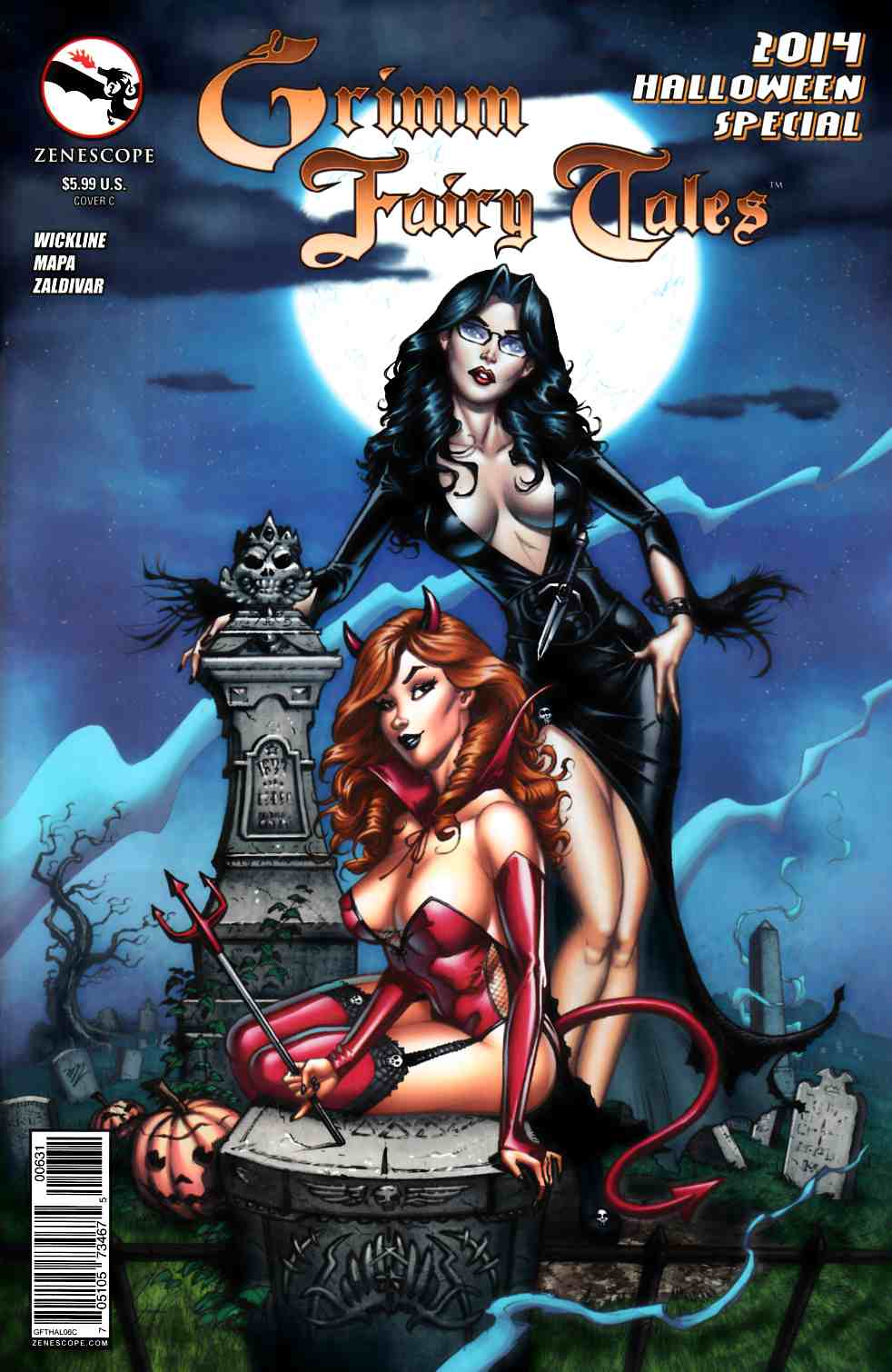 GFT Halloween Special 2014 Cover C- Dooney [Zenescope Comic] LARGE