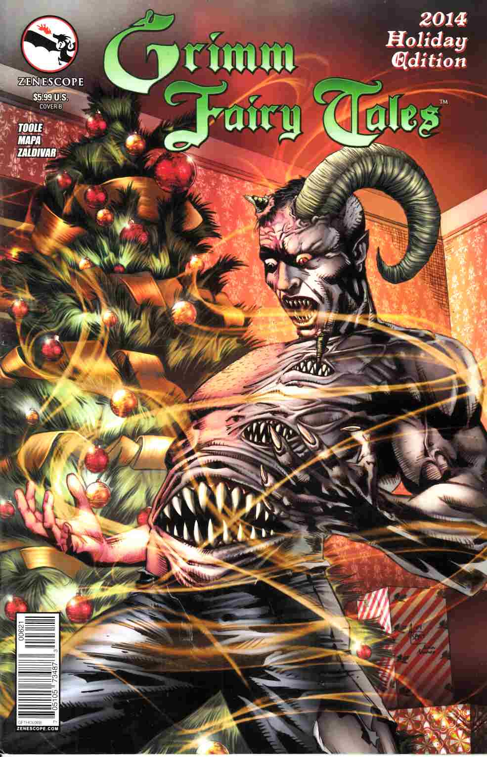 GFT 2014 Holiday Special Cover B Spay [Zenescope Comic] THUMBNAIL