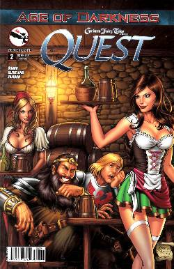 GFT Quest #2 Cover B- Reyes [Comic] LARGE