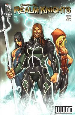GFT Realm Knights #3 Cover A- Qualano [Comic] LARGE
