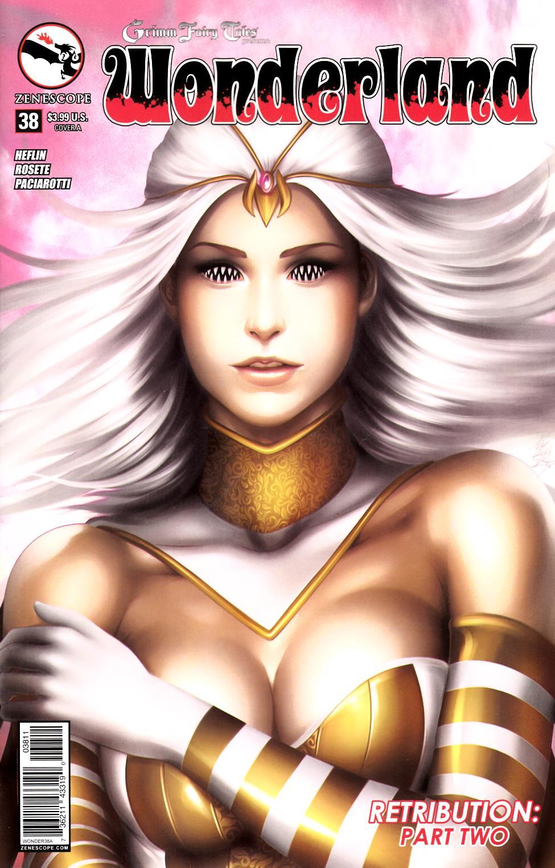 Wonderland #38 Cover A- Meguro [Zenescope Comic]