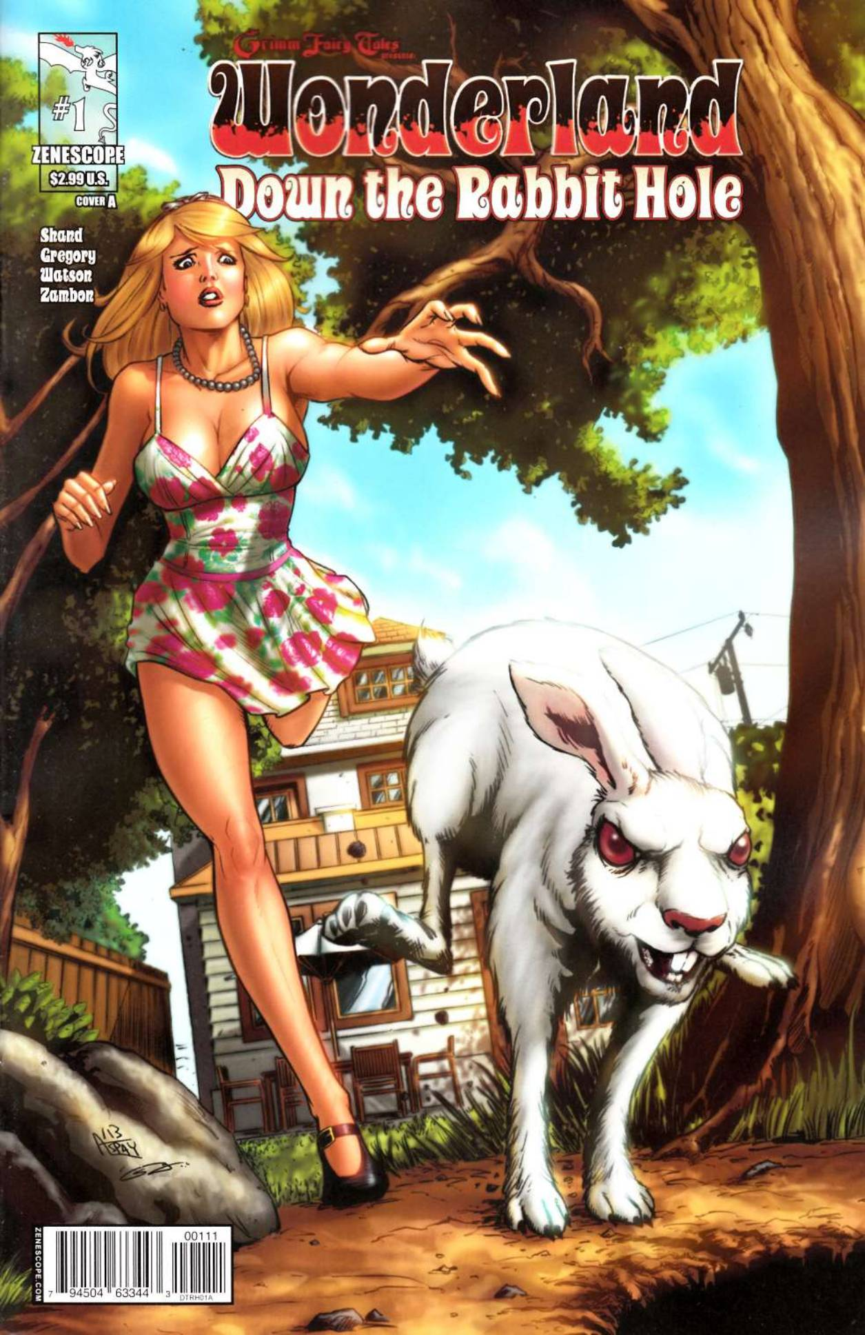 GFT Wonderland Down Rabbit Hole #1 Cover A- Spay [Comic] THUMBNAIL