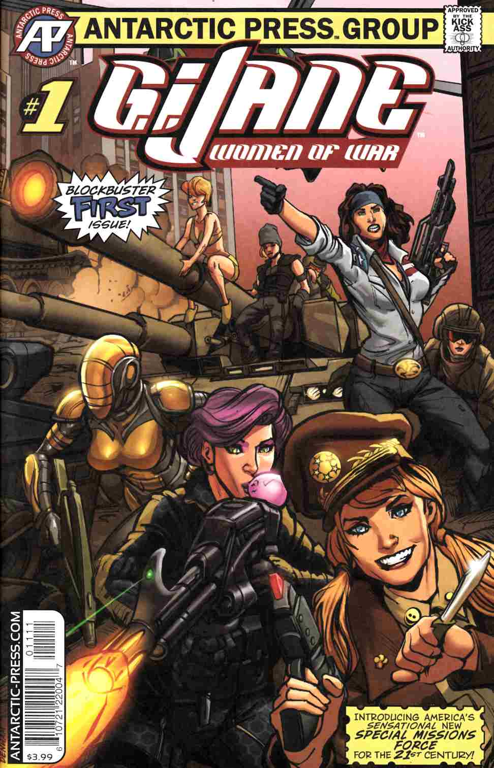 GI Jane Women of War #1 [Antarctic Press Comic] LARGE
