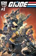 GI Joe #1 Cover B [IDW Comic] THUMBNAIL